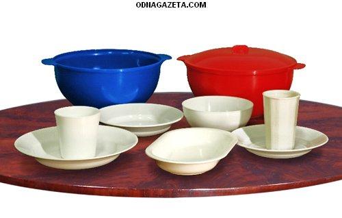 купить Пластмассовая многоразовая посуда для горячих кривой рог объявление 1