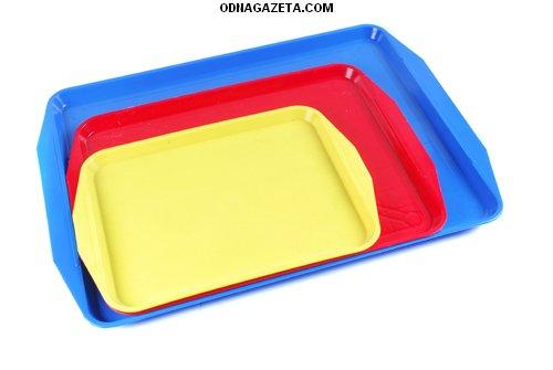 купить Пластмассовые столовые подносы разных размеров кривой рог объявление 1
