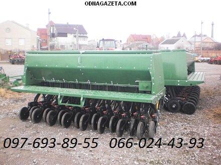 купить Сеялка зерновая механическая John Deere кривой рог объявление 1