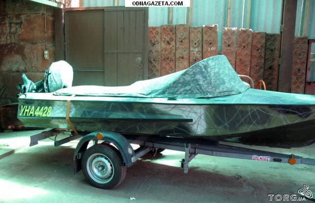 купить Лодка Обь с прицепом. 60 кривой рог объявление 1