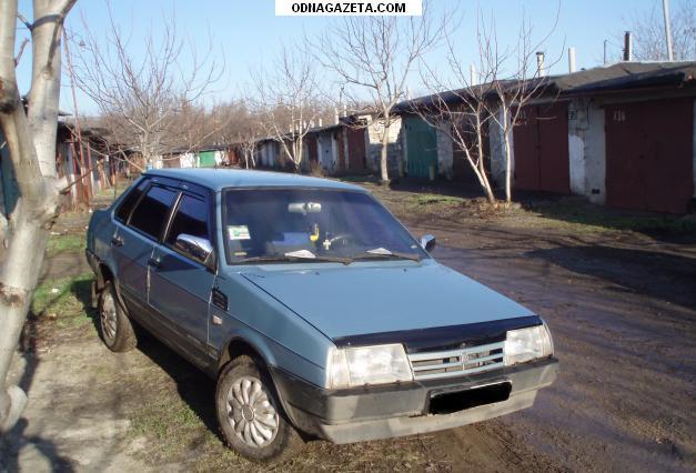 купить Ваз 21099, серо-голубой, 2002 г. кривой рог объявление 1