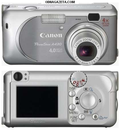 купить Б/у фотоаппарат Canon A430 в кривой рог объявление 1