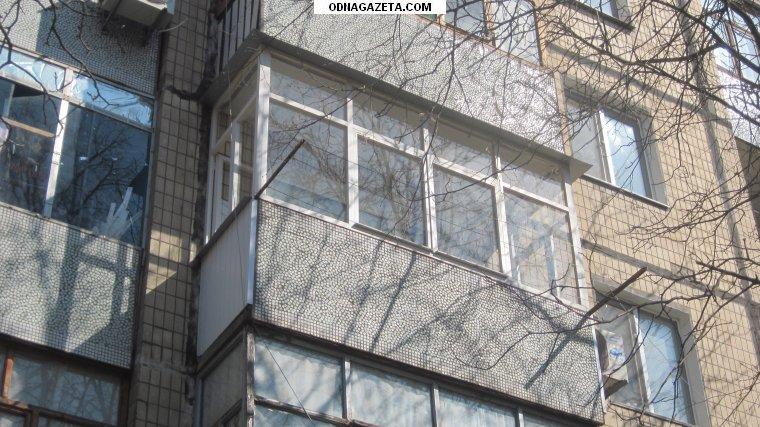 купить Застеклить балкон недорого. Материал рамы кривой рог объявление 1