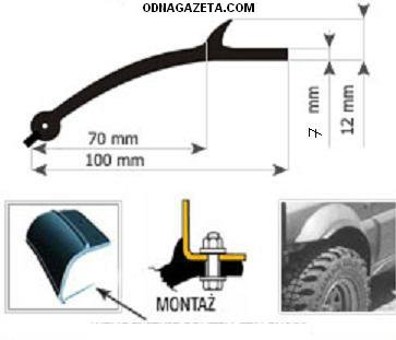 купить Универсальные расширители колесных арок ширина кривой рог объявление 1
