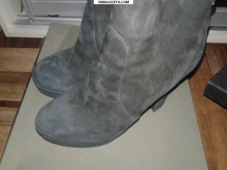 купить Замшевые ботинки размер 37-38, носились кривой рог объявление 1