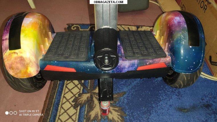 купить Продаю гироскутер с ручкой Segway кривой рог объявление 1