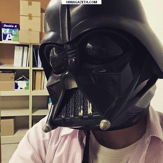 купить Шлем Дарта Вейдера с модуляцией кривой рог объявление 1