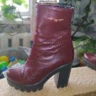 купить Продам кожаные сапоги весна/осень 38 размер  кривой рог объявление