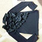 купить Продам блузу черную с рюшами /Стрейч/  кривой рог объявление
