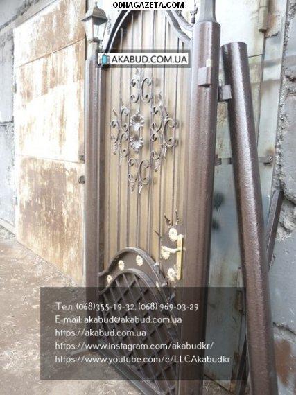 купить Кованые Распашные Ворота На нашем кривой рог объявление 1