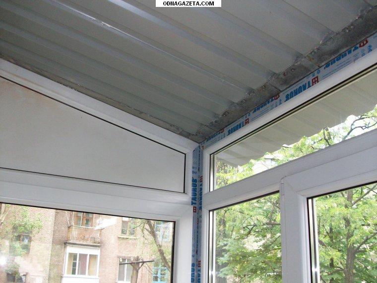 Крыша на балкон. материал для крыши: металлический проф наст.