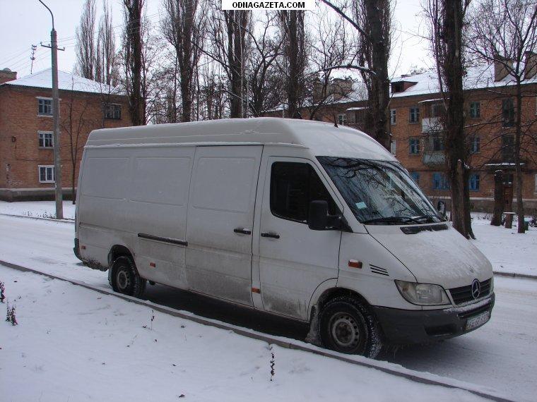 купить Грузовые перевозки микроавтобусом Мерседес-Спринтер по кривой рог объявление 1