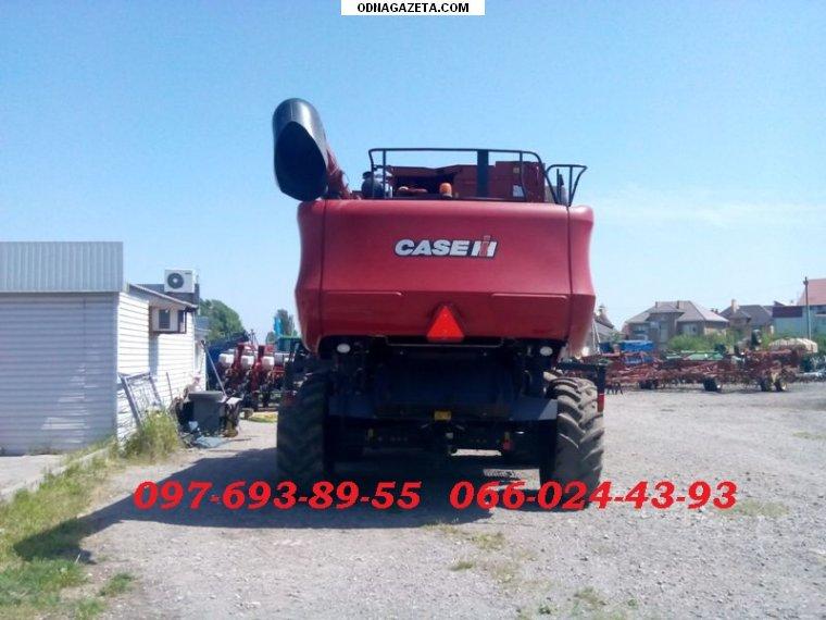 купить Комбайн роторный Case 8010 Axial кривой рог объявление 1