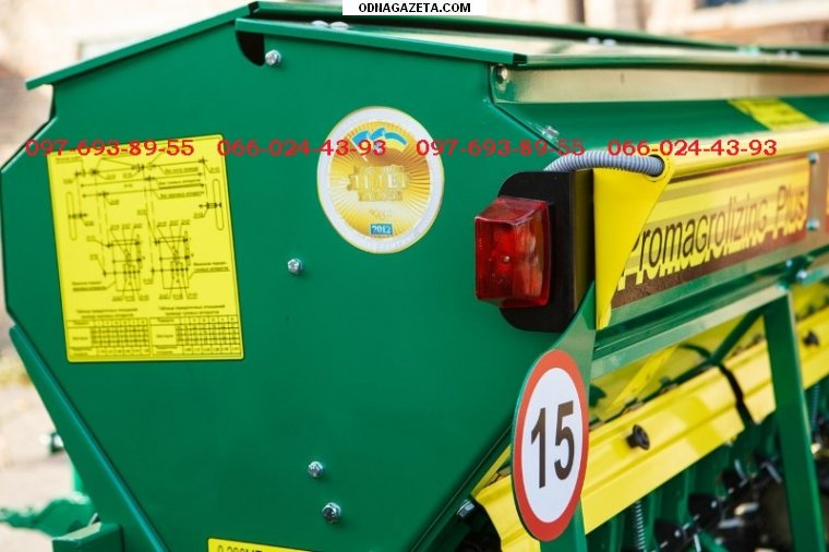 купить Сеялка зерновая Харвест 360 механическая кривой рог объявление 1
