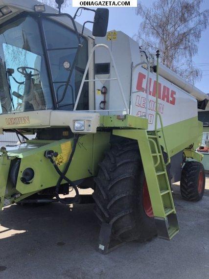 купить комбайн зерноуборочный Claas Lexion 460 кривой рог объявление 1