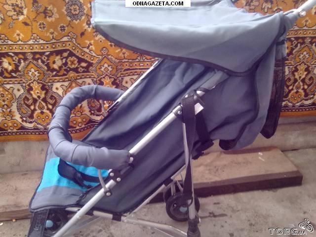 купить Прогулочная коляска Geoby серо-голубого цвета. кривой рог объявление 1
