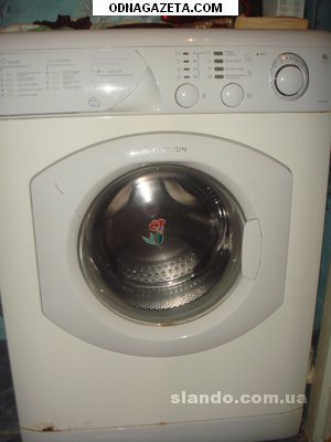 купить Продаю стиральную машину индезит 2004г. кривой рог объявление 1