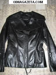 купить Пр. жен. кож. куртку черного кривой рог объявление 1