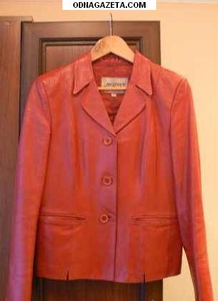 купить Кожаный пиджак 46 (M) за кривой рог объявление 1