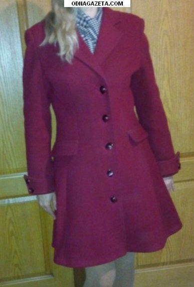 купить Продам пальто вишневое 48 раз. кривой рог объявление 1