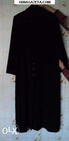 купить Пальто осеннее черное 48 раз кривой рог объявление 1