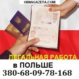 купить Легальная работа в Польше. Требуются кривой рог объявление 1