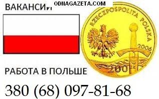 купить Трудоустраиваем в Польшу, легальная работа, кривой рог объявление 1
